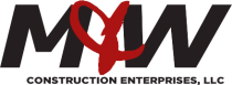 M & W Construction Logo